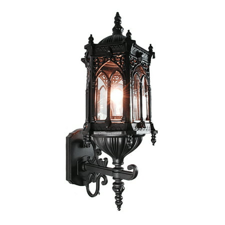 black outdoor lantern lights exterior etoplighting rococo collection oil rubbed matt black finish exterior outdoor lantern light clear glass wall